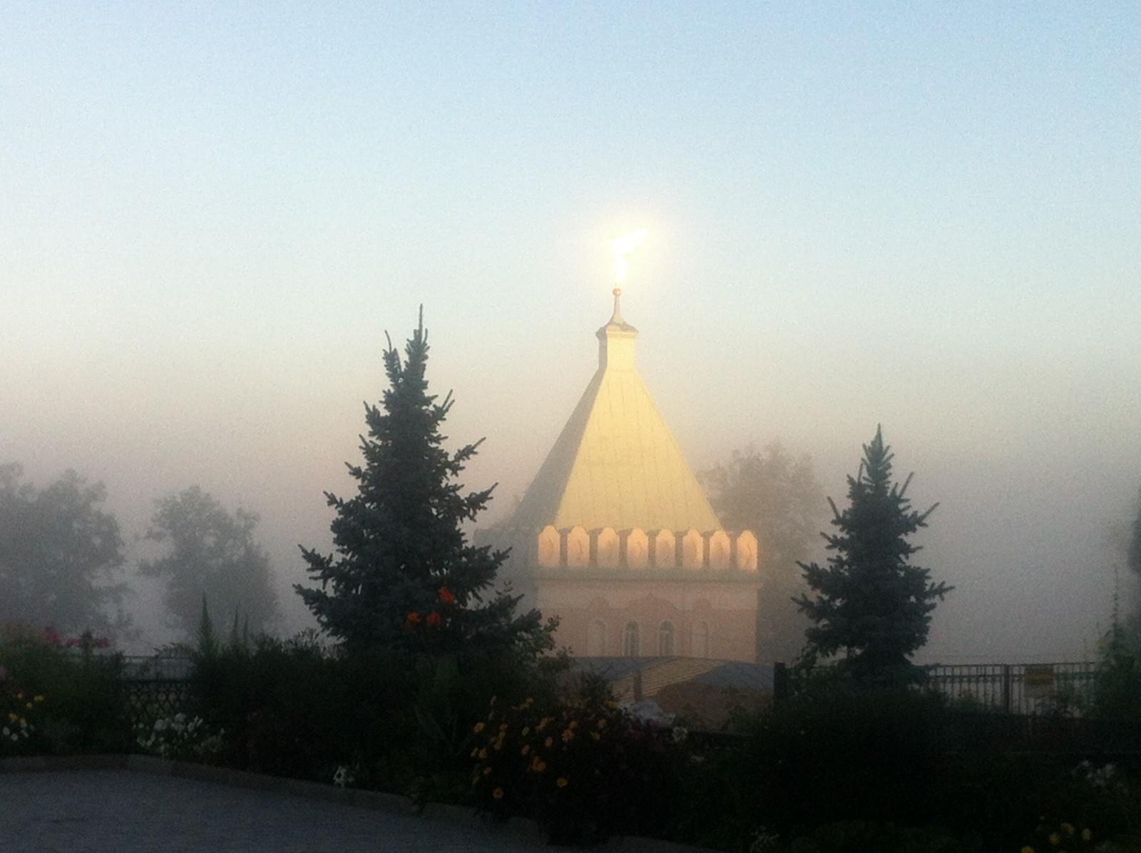 Ранее туманное утро