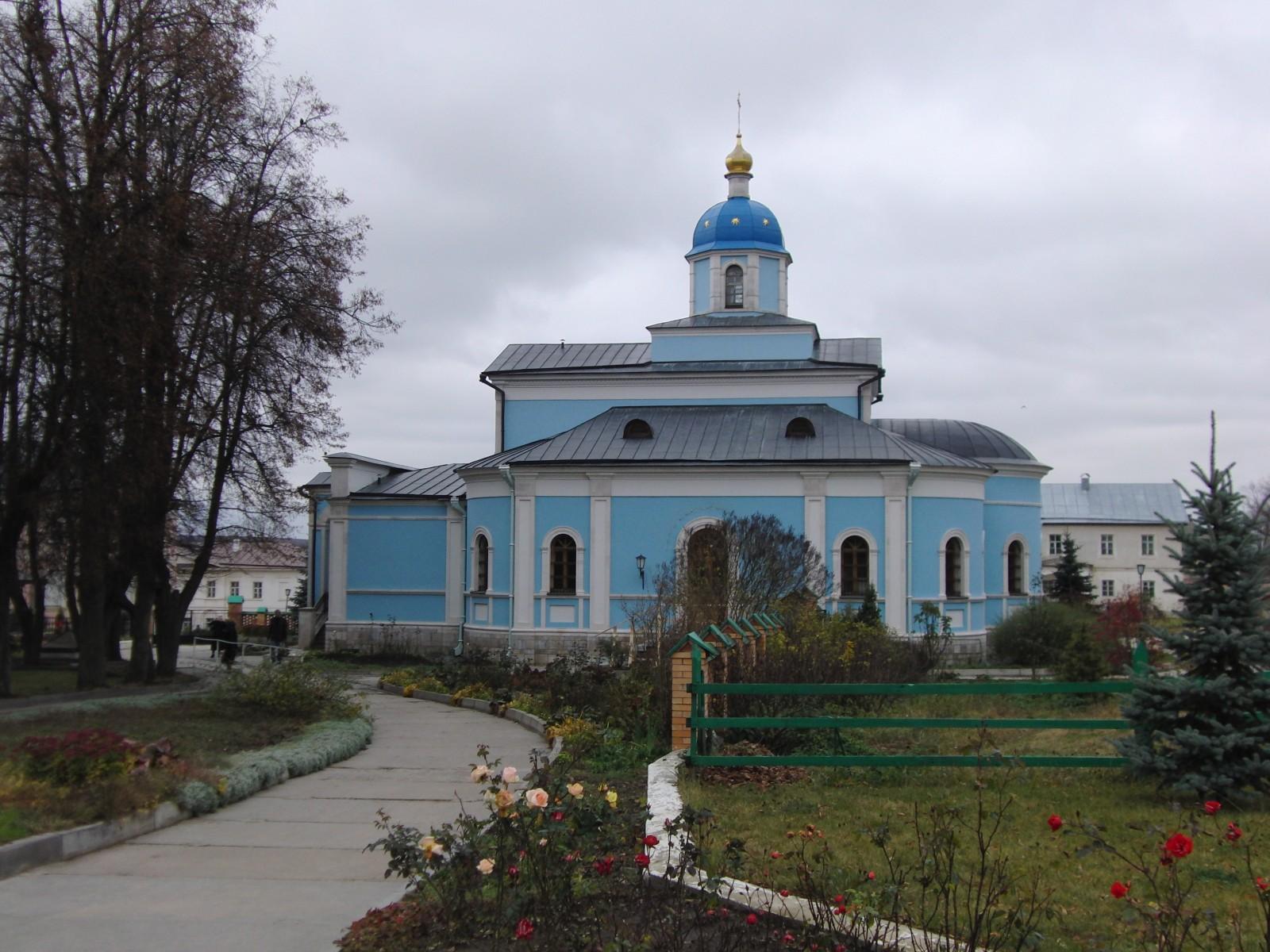 Владимирский храм... старцы...