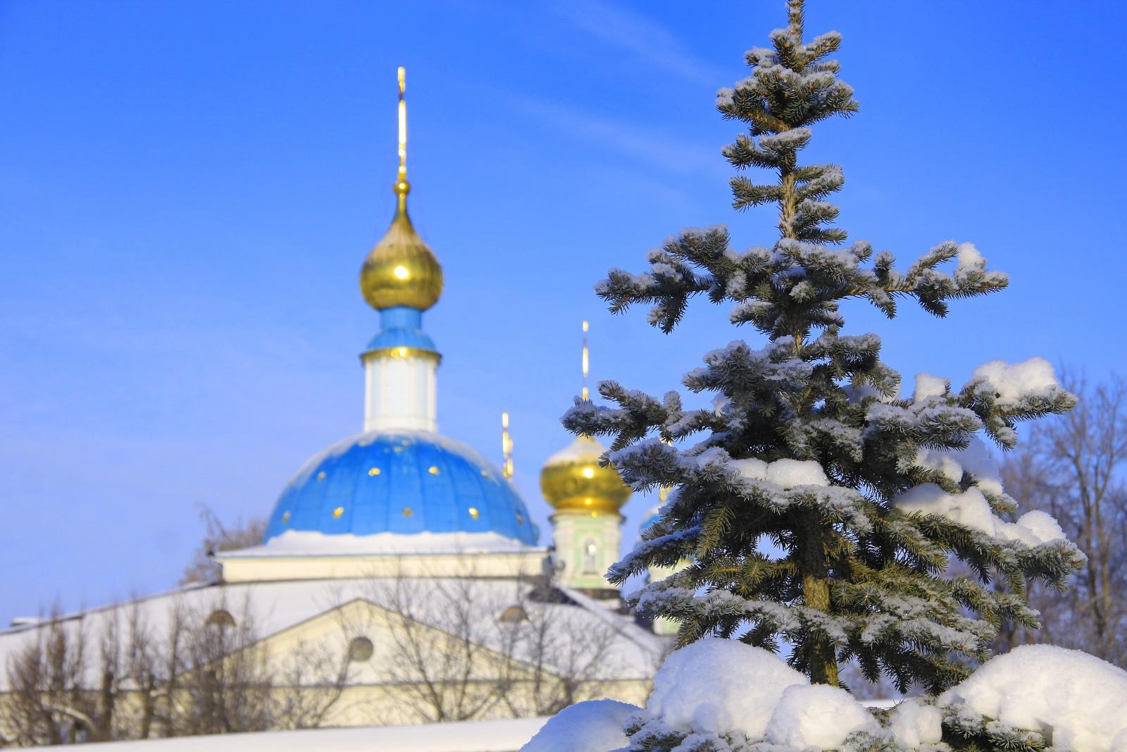 Купола Казанского Храма