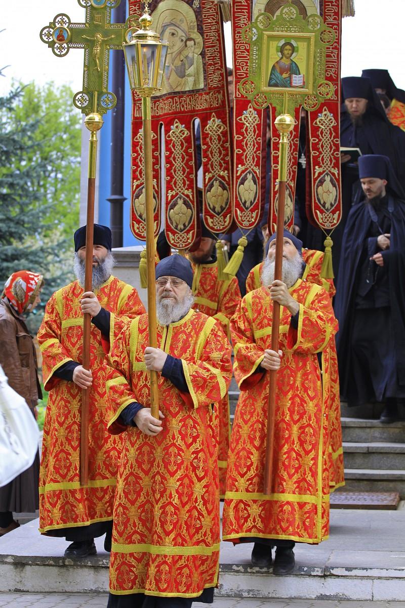 Начало хода от Владимирского Храма