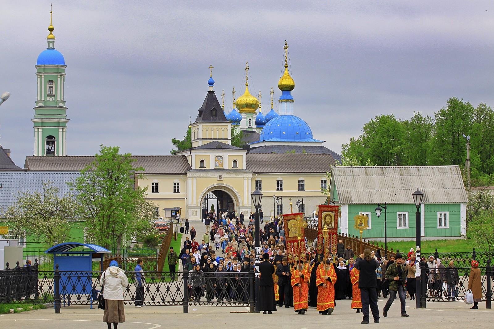 По дороге к источнику прп. Пафнутия Боровского