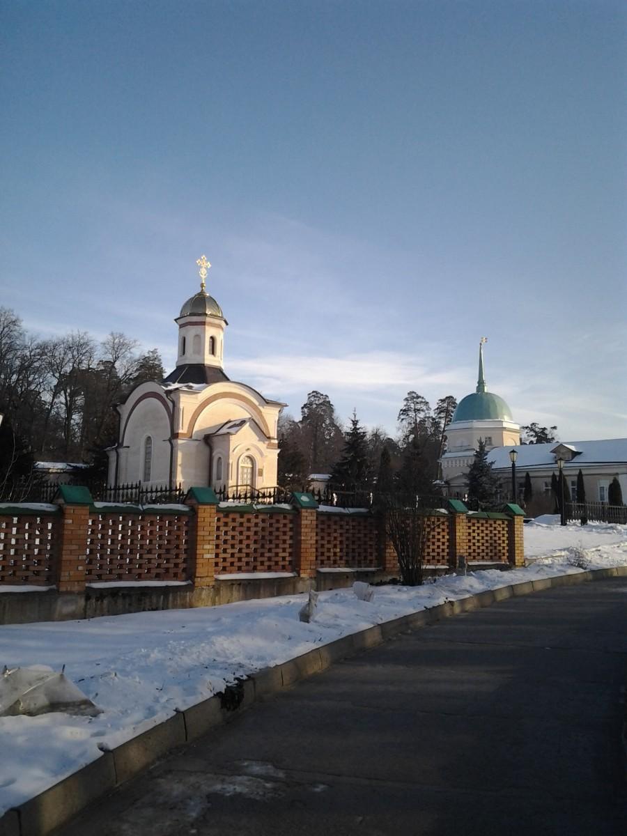 Часовня Новомучеников Оптинских. Зима 2012г.