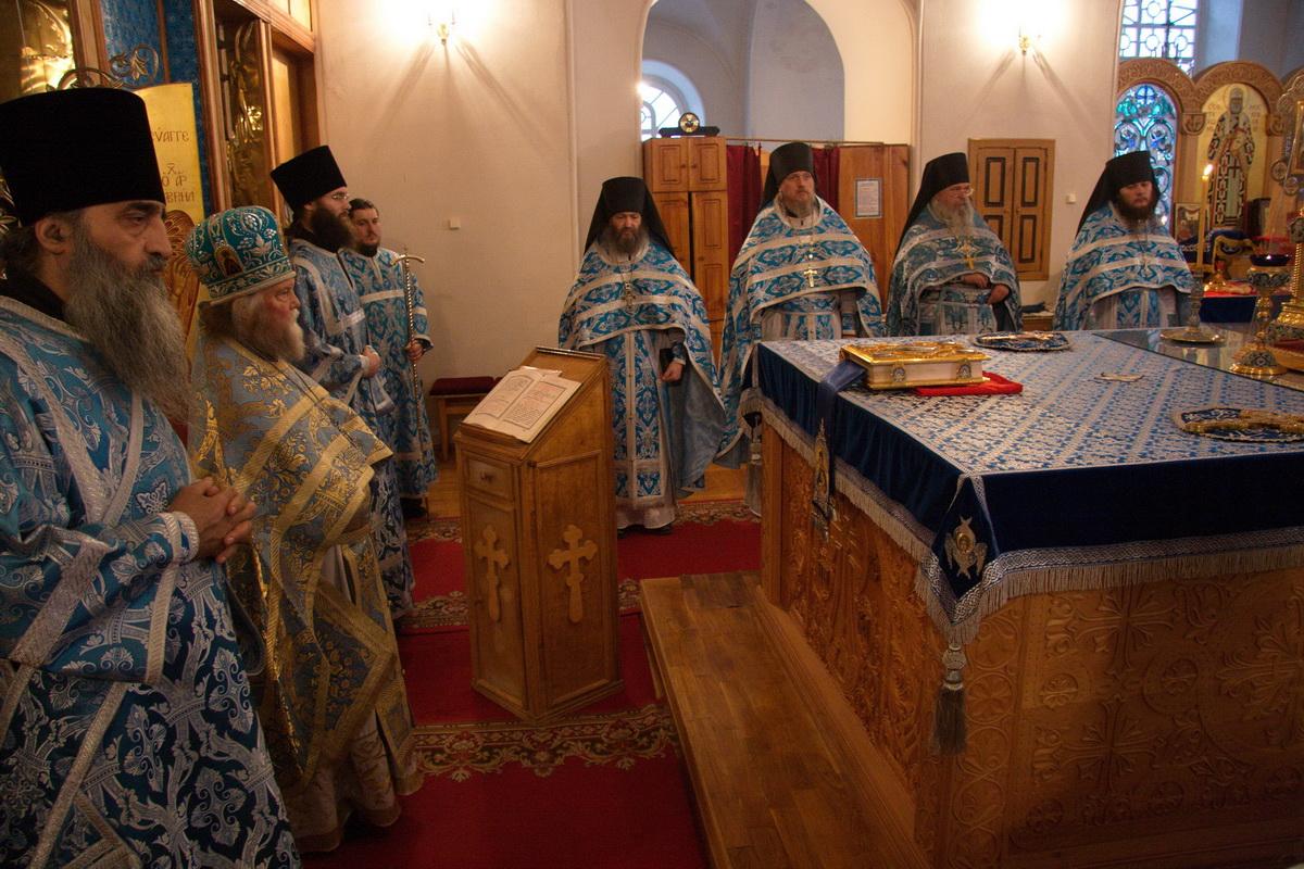 Престольный праздник в Шамордино, 4 ноября 2011 г.