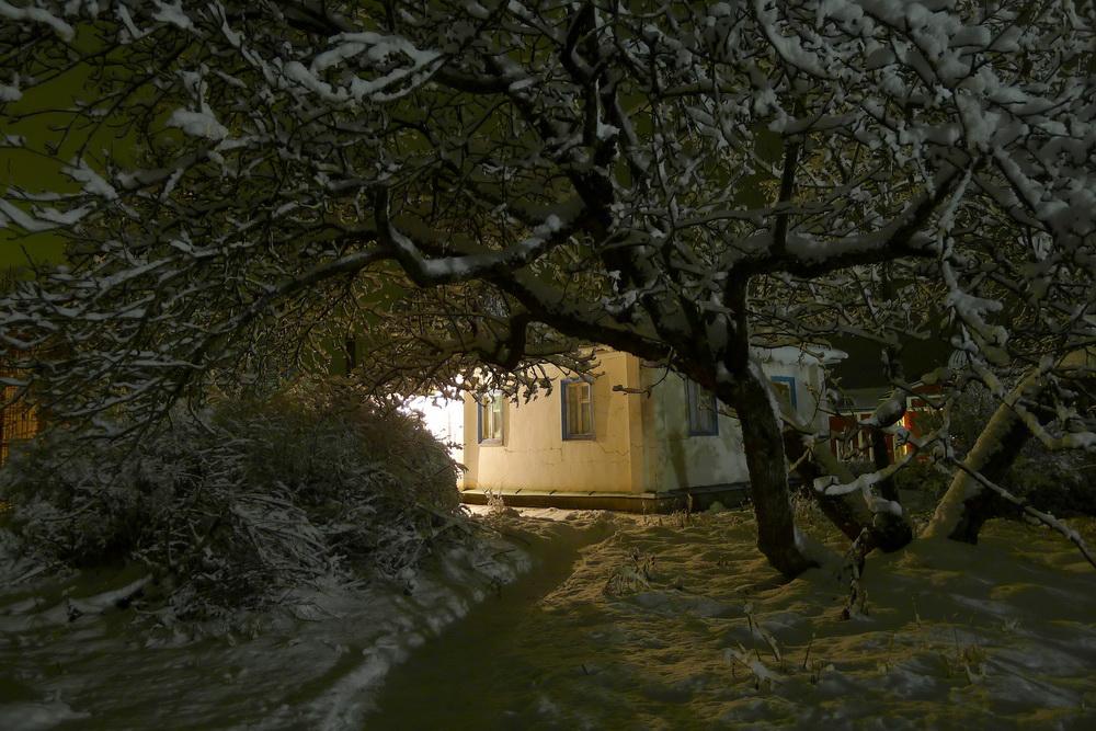 Ночь в Скиту