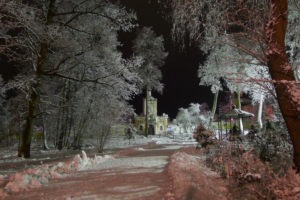 Ночь в Предтеченском скиту
