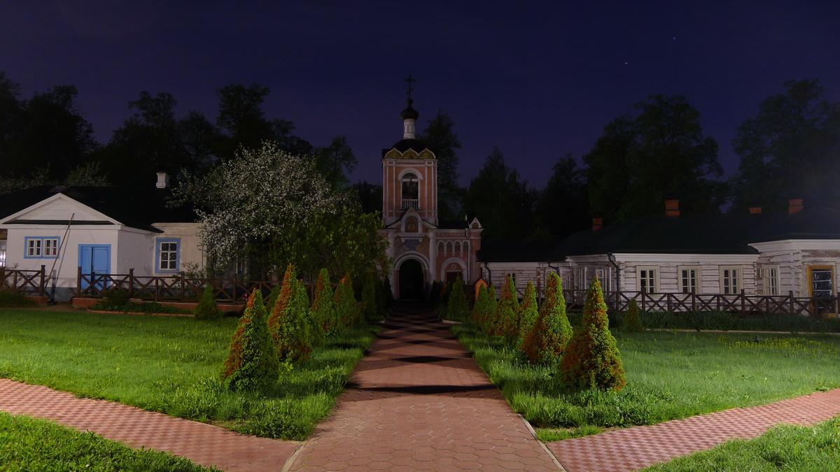 Вид со ступеней храма