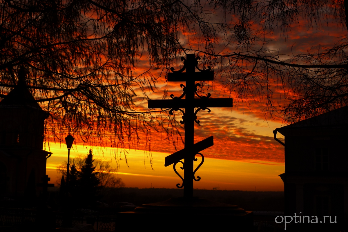Закат перед всенощной Введения