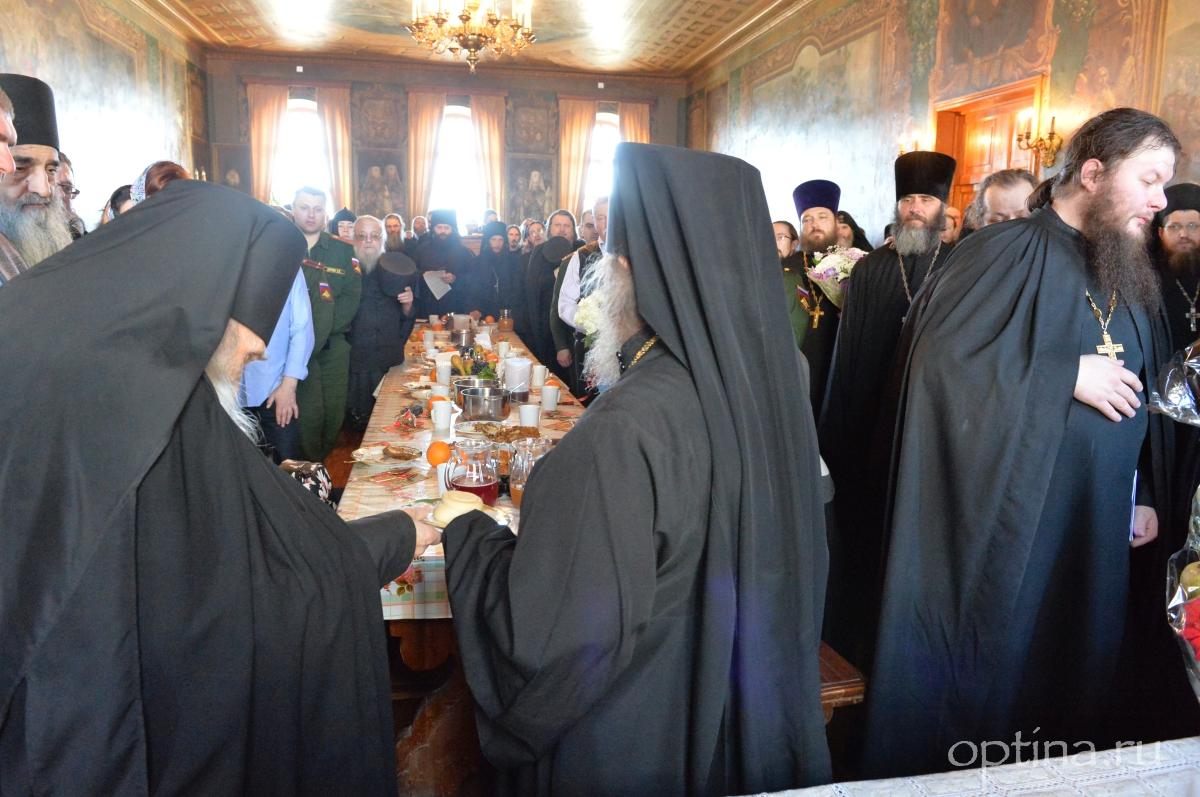 Поздравление архимандрита Венедикта с именинами