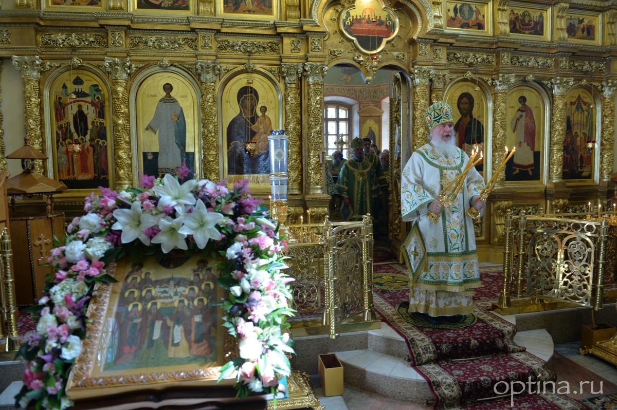 Память преподобного Амвросия Оптинского