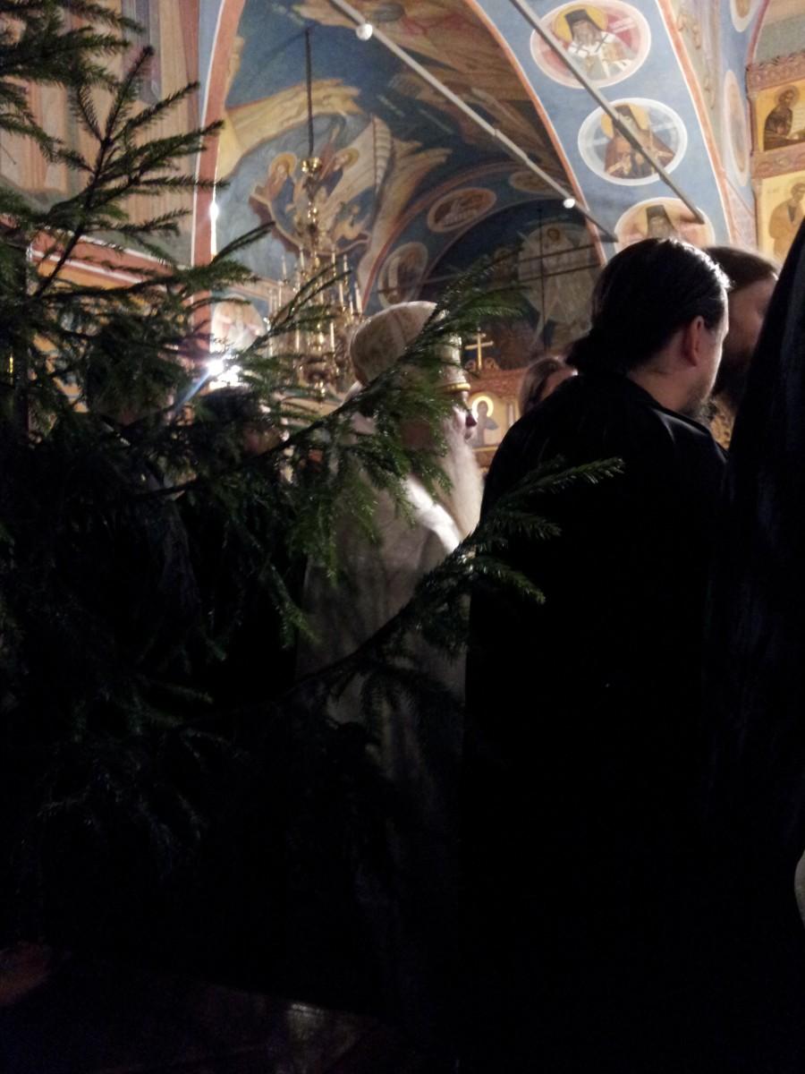 Праздничная Литургия Рождества Христова