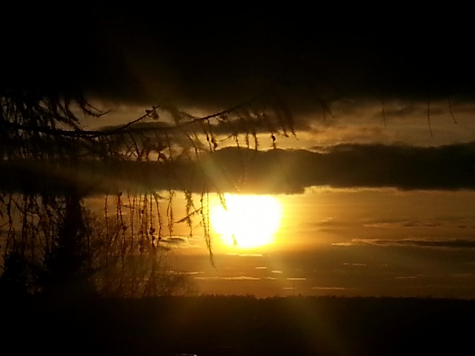 Закат перед Казанской. 03.11.2014