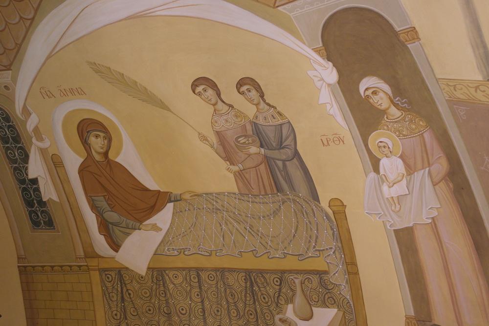 Роспись во Введенском соборе, 28 декабря 2011
