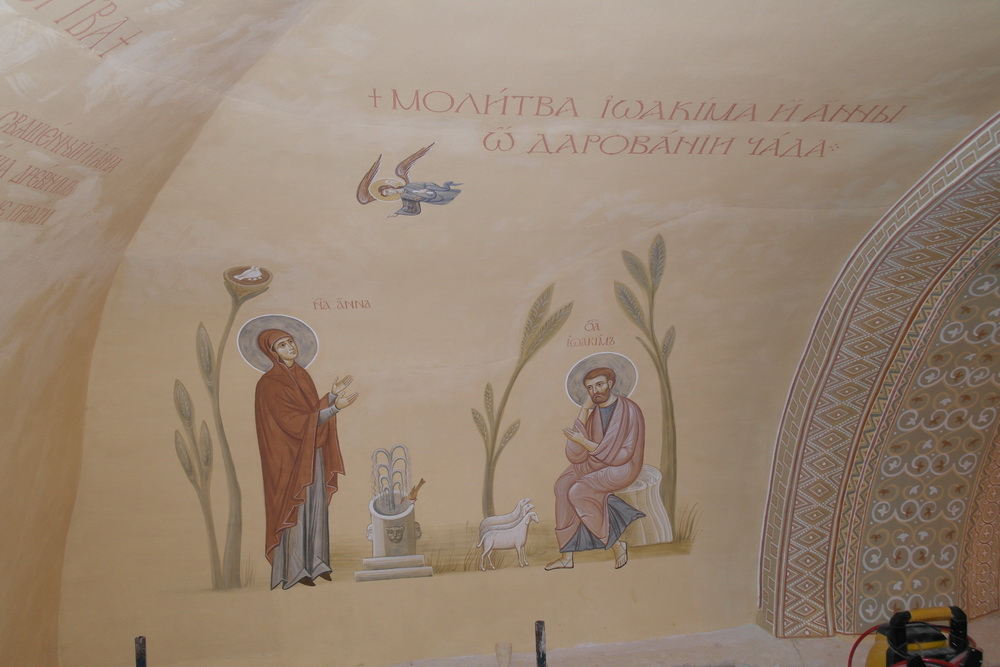 Роспись во Введенском соборе