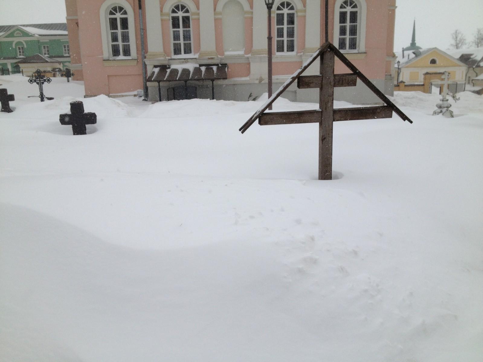 Небывалый мартовский снегопад