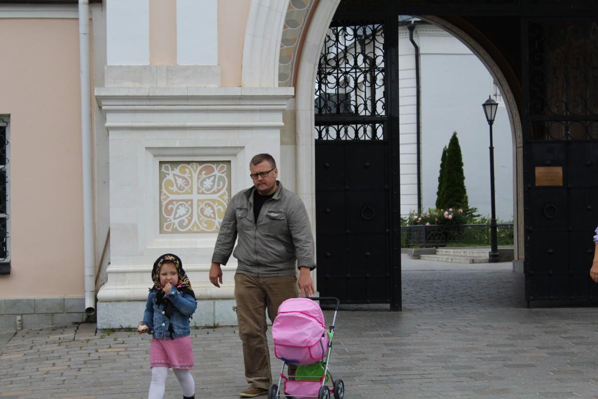 """Папа с дочкой и дочка с """"дочкой"""""""