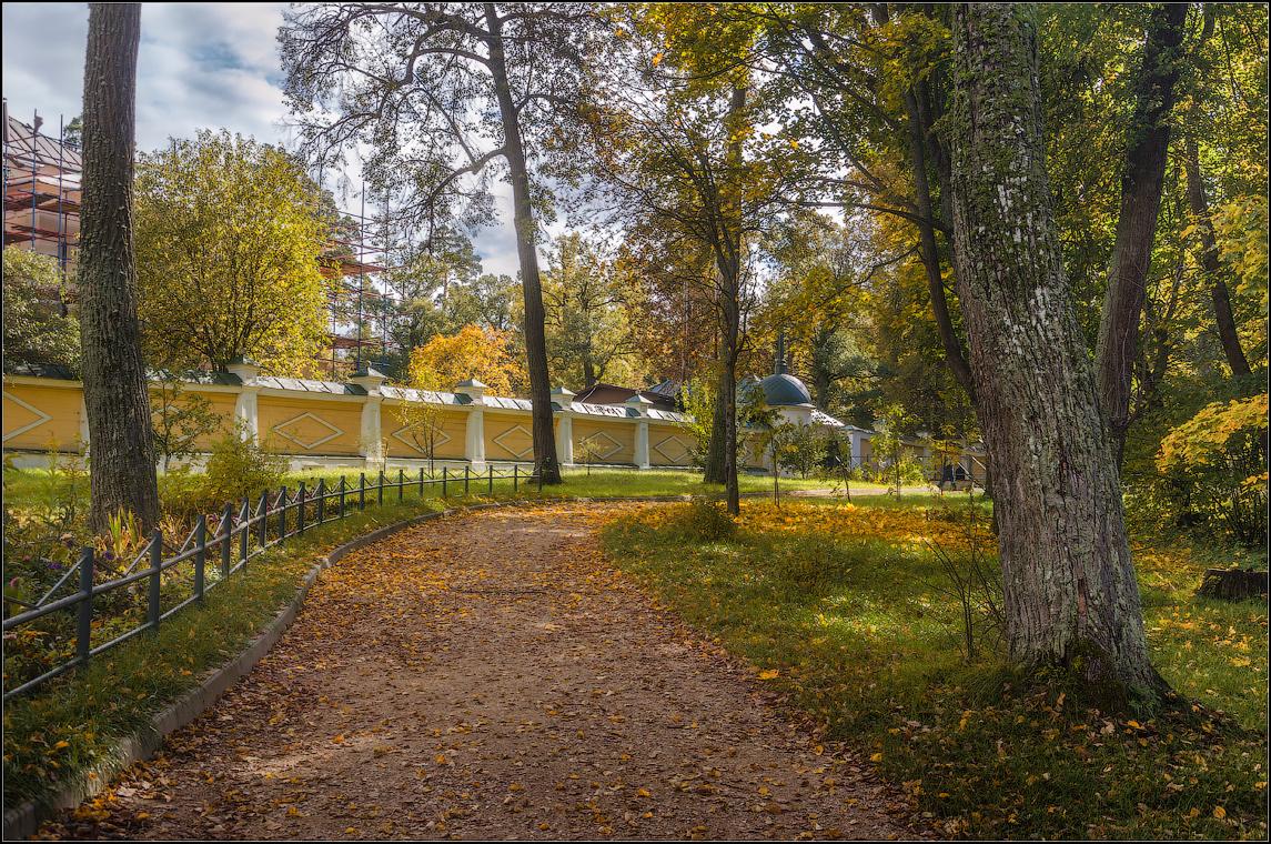 Осенняя тропа ( Снимок сделан 27 сентября 2013 г.)