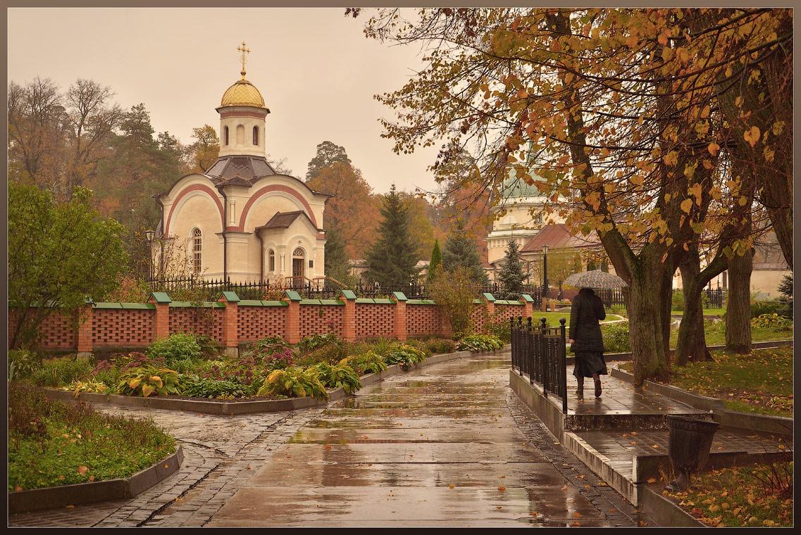 Осеннее ненастье в теплых тонах ( 12 октября 2012 г.)