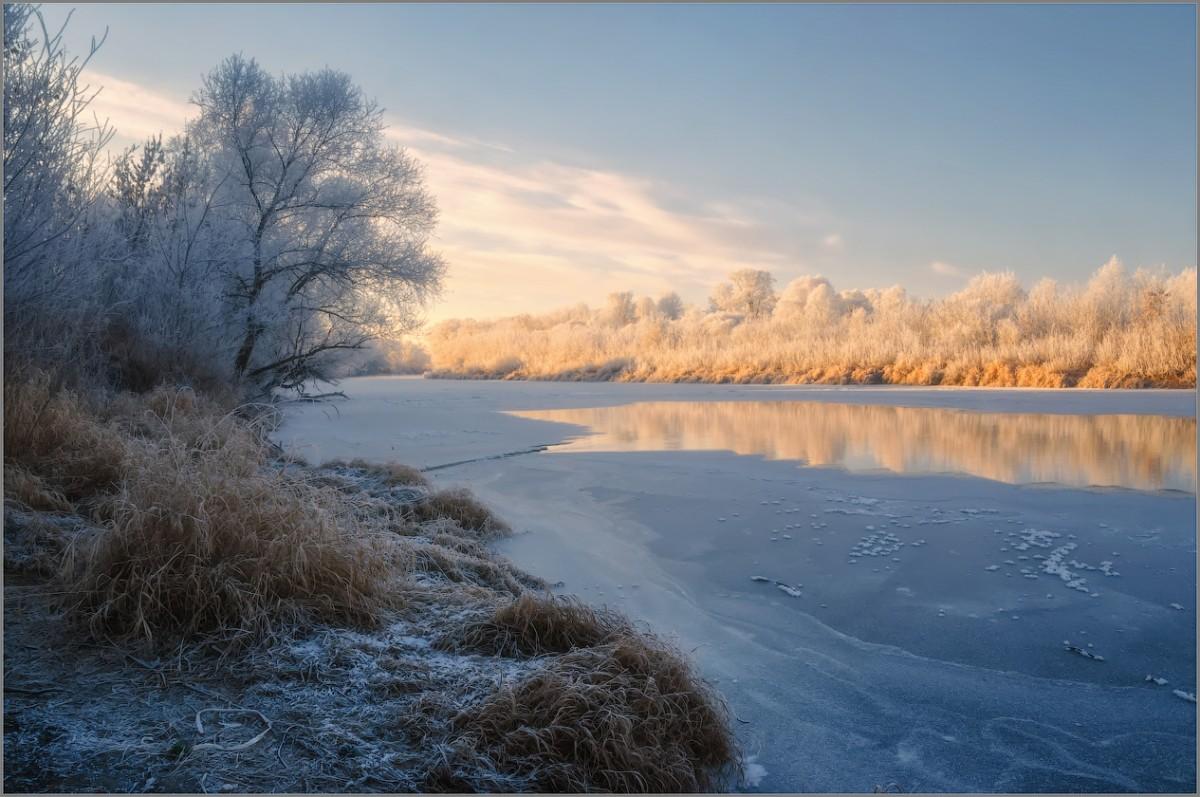Рассыпанное серебро зимы (снимок сделан 27 ноября 2014 г.)