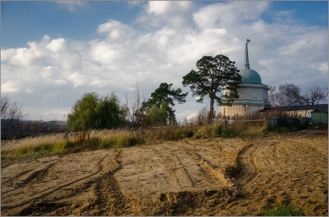 Следы на песке ( Снимок сделан 25 октября 2013 г.)