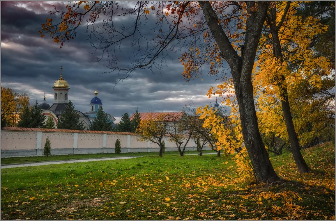 Осенний мотив ( Снимок сделан 1 октября 2014 г.)