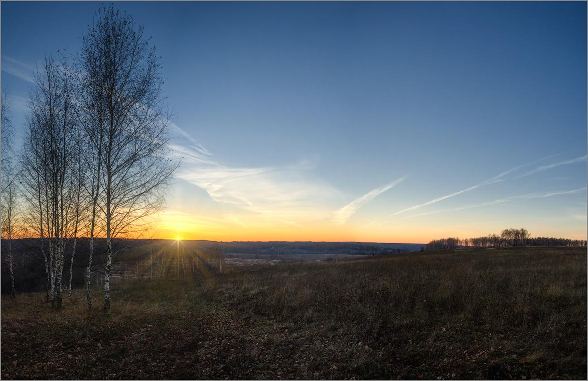 Провожая солнце (снимок сделан 26 октября 2014 г.)