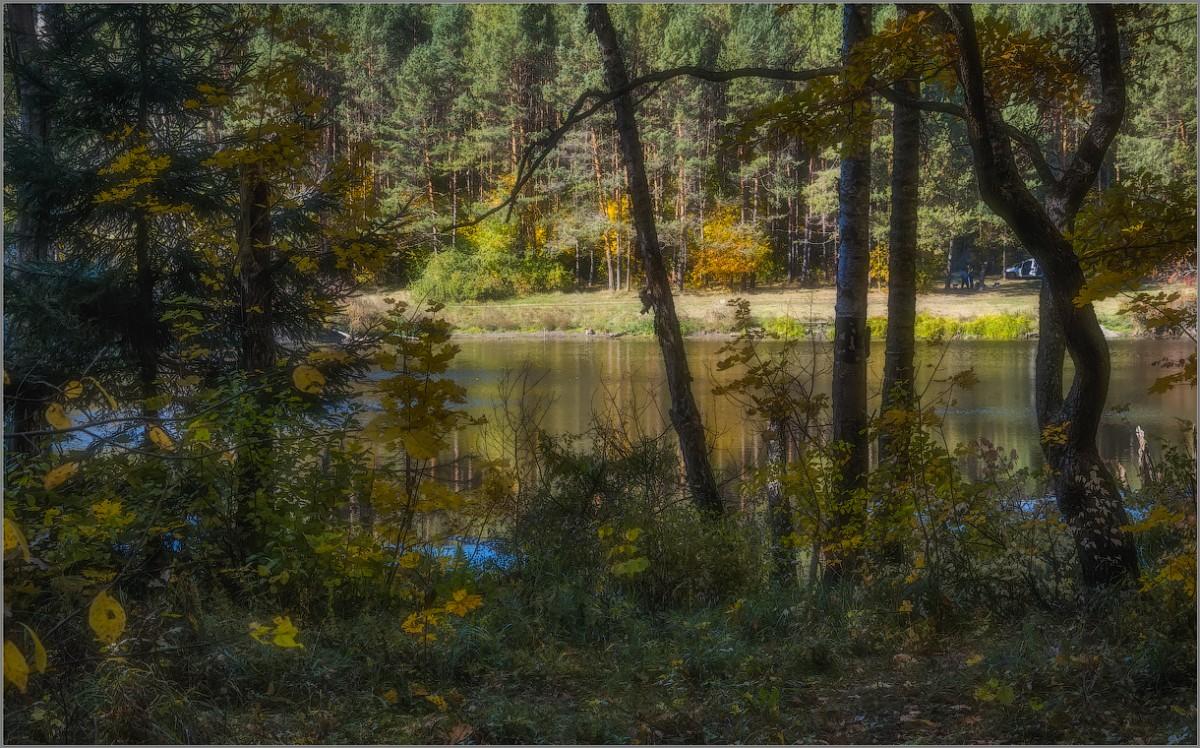 Лесное озеро (снимок сделан 28 сентября 2014 г.)