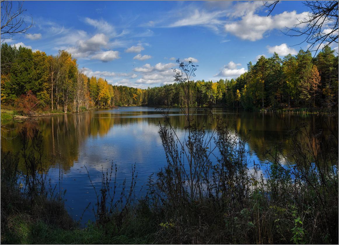 Осени прекрасная пора (снимок сделан 29 сентября 2014 г.)