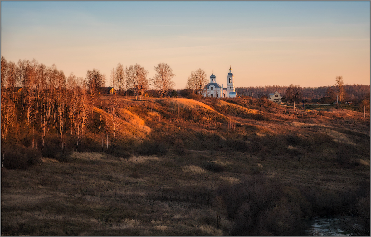 В теплых красках заката (снимок сделан 26 октября 2014 г.)