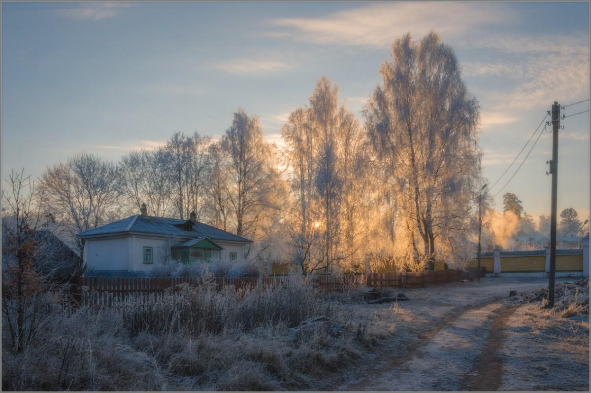 В тонком свете утра (снимок сделан 27 ноября 2014 г.)