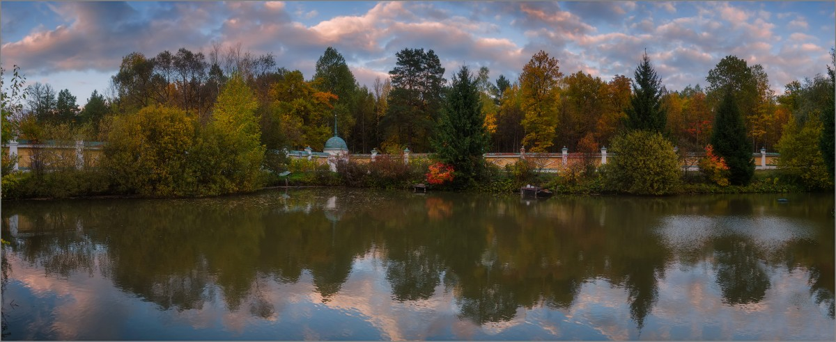 Скитской пруд (снимок сделан 1октября 2014 г.)