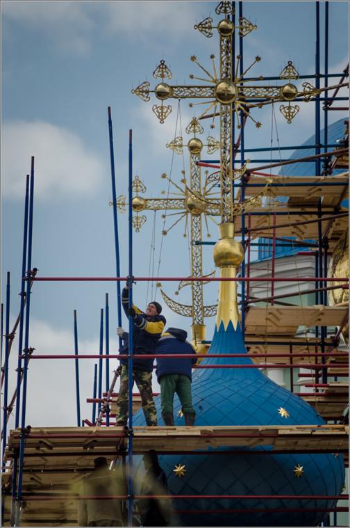 Обновление Введенского храма_2 ( Снимок сделан 24 апреля 2013 г.)