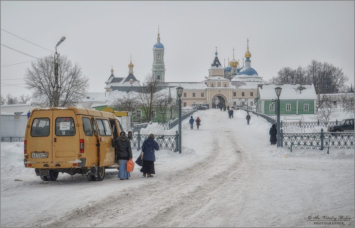 Зимняя графика (снимок сделан 20 января 2013 г.)