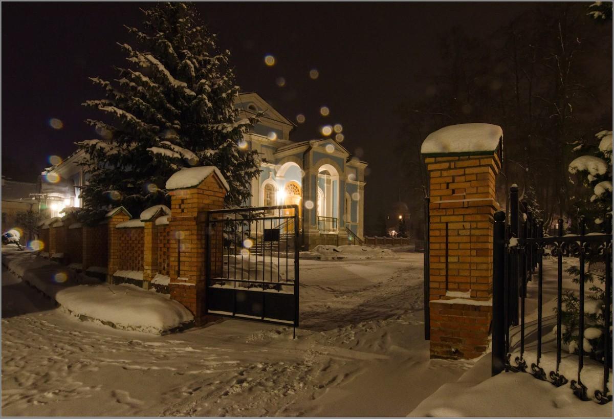 Когда идет снег (снимок сделан 4 января 2017 г.)