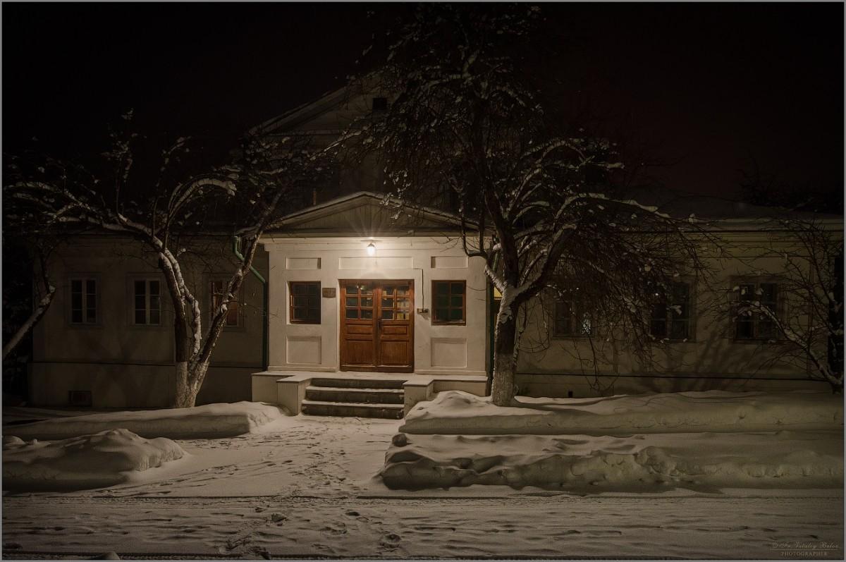 Когда погаснет в окнах свет (снимок сделан 4 января 2017 г.)