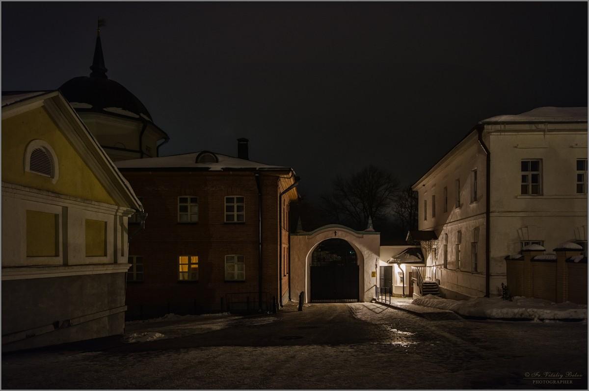 У северных ворот (снимок сделан 23 января 2017 г.)