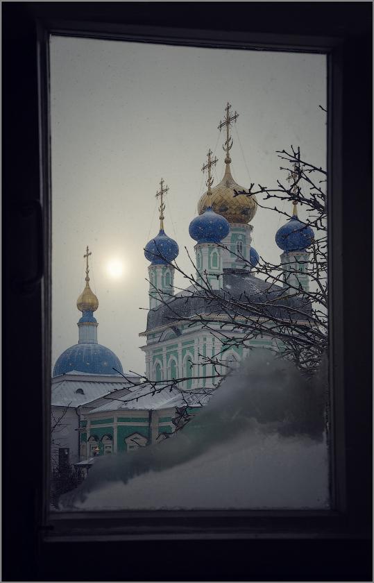 Снег идет (снимок сделан 18 января 2015 г.)