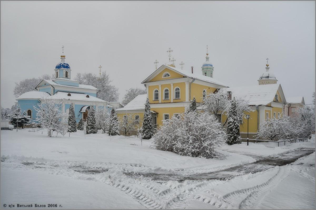 Однодневная зима (снимок сделан 25 февраля 2016 г.)