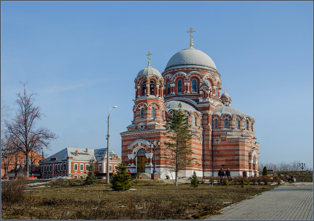 Храм Св. Троицы в Коломне ( 14 апреля 2013 г.)
