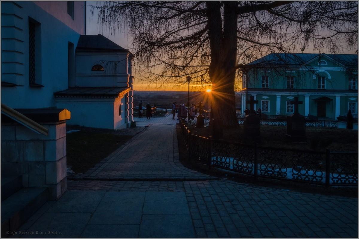 Наблюдая солнечный закат (снимок сделан 9 марта 2014 г.)