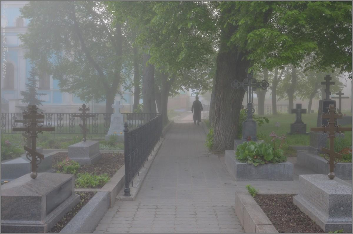 В легкой дымке тумана (снимок сделан 11 мая 2012 г.)