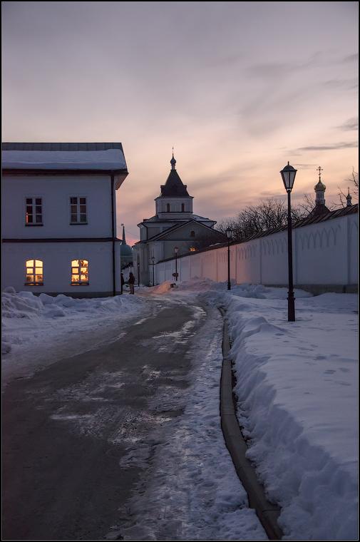 Тихий вечер в Оптиной ( 10 марта 2013 г.)