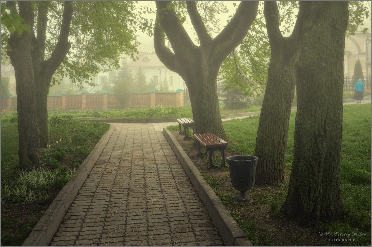Туманное утро (снимок сделан 6 мая 2012 г.)
