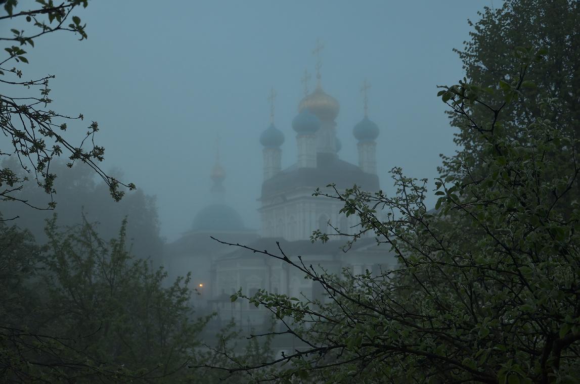 Туманное утро ( 6 мая 2012 г. )