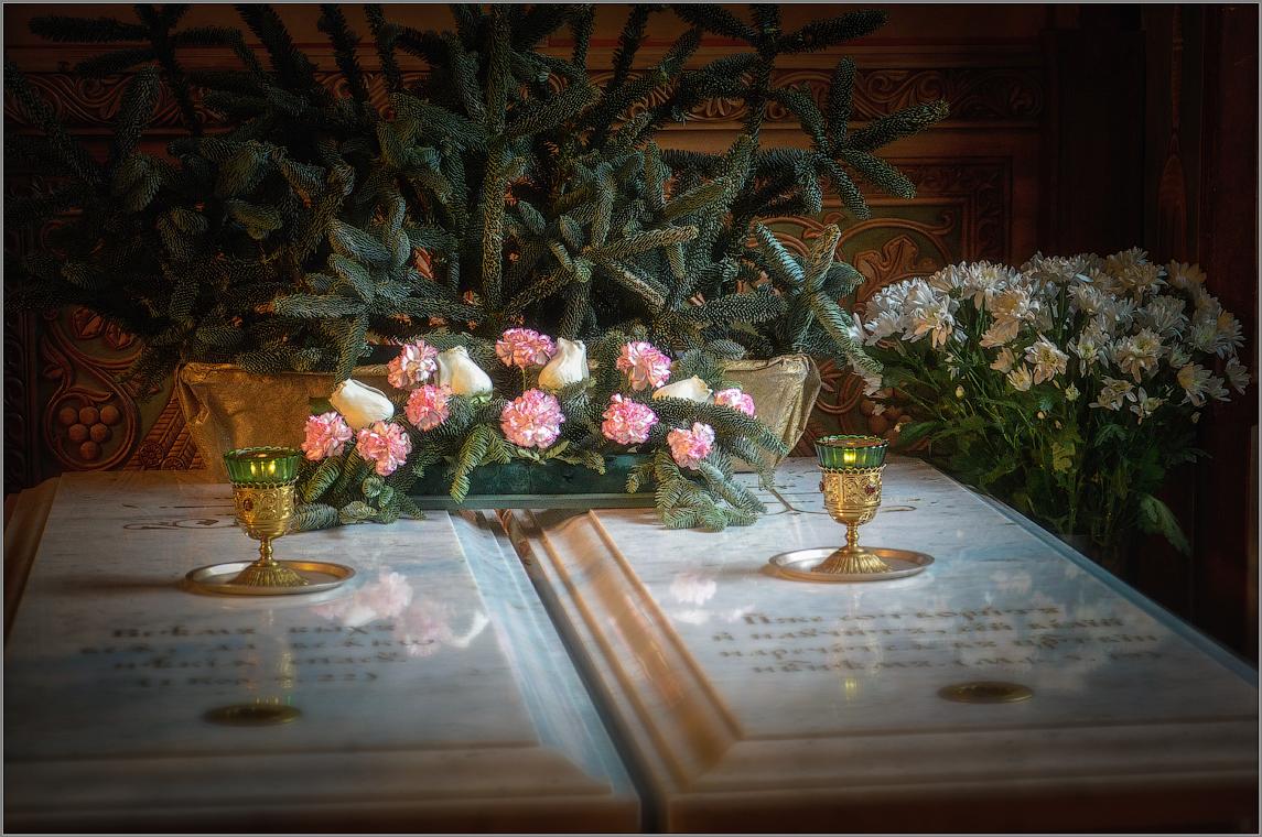 Место поклонения ( Снимок сделан 18 января 2013 г.)