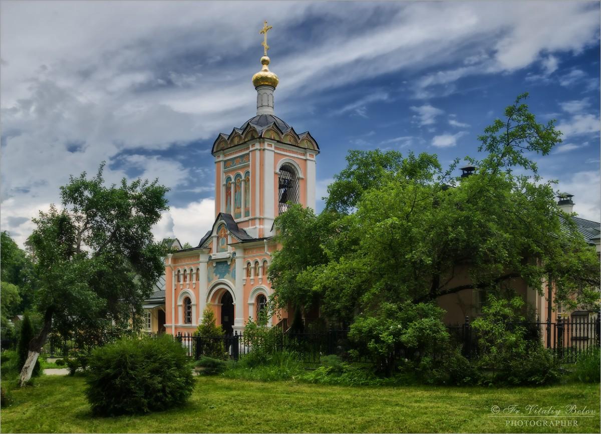Скитская колокольня (снимок сделан 16 июня 2016 г.)