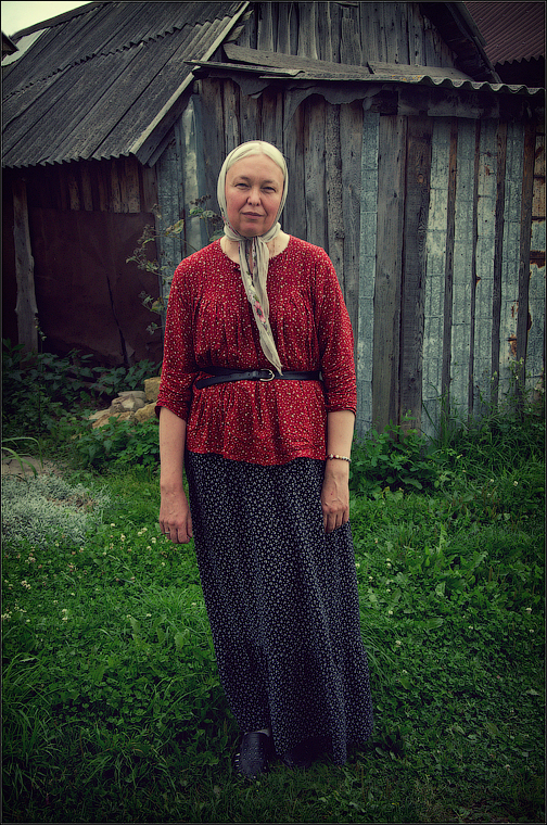 Образ русской женщины ( Снимок сделан 3 августа 2013 г.)