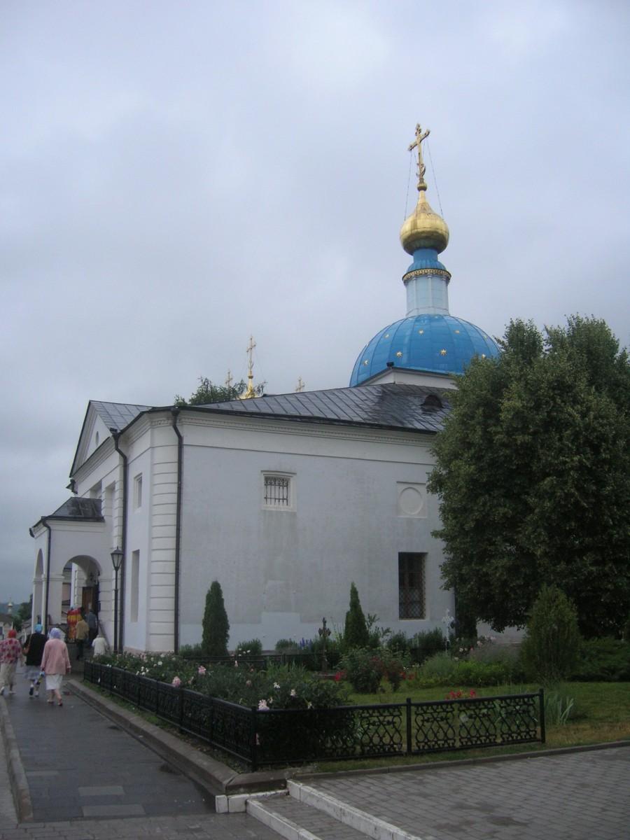 Оптина Пустынь, Храм в честь Казанской иконы Божией Матери