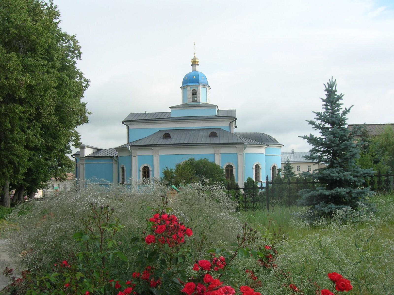 Оптина Пустынь, Храм в честь Владимирской иконы Божией Матери