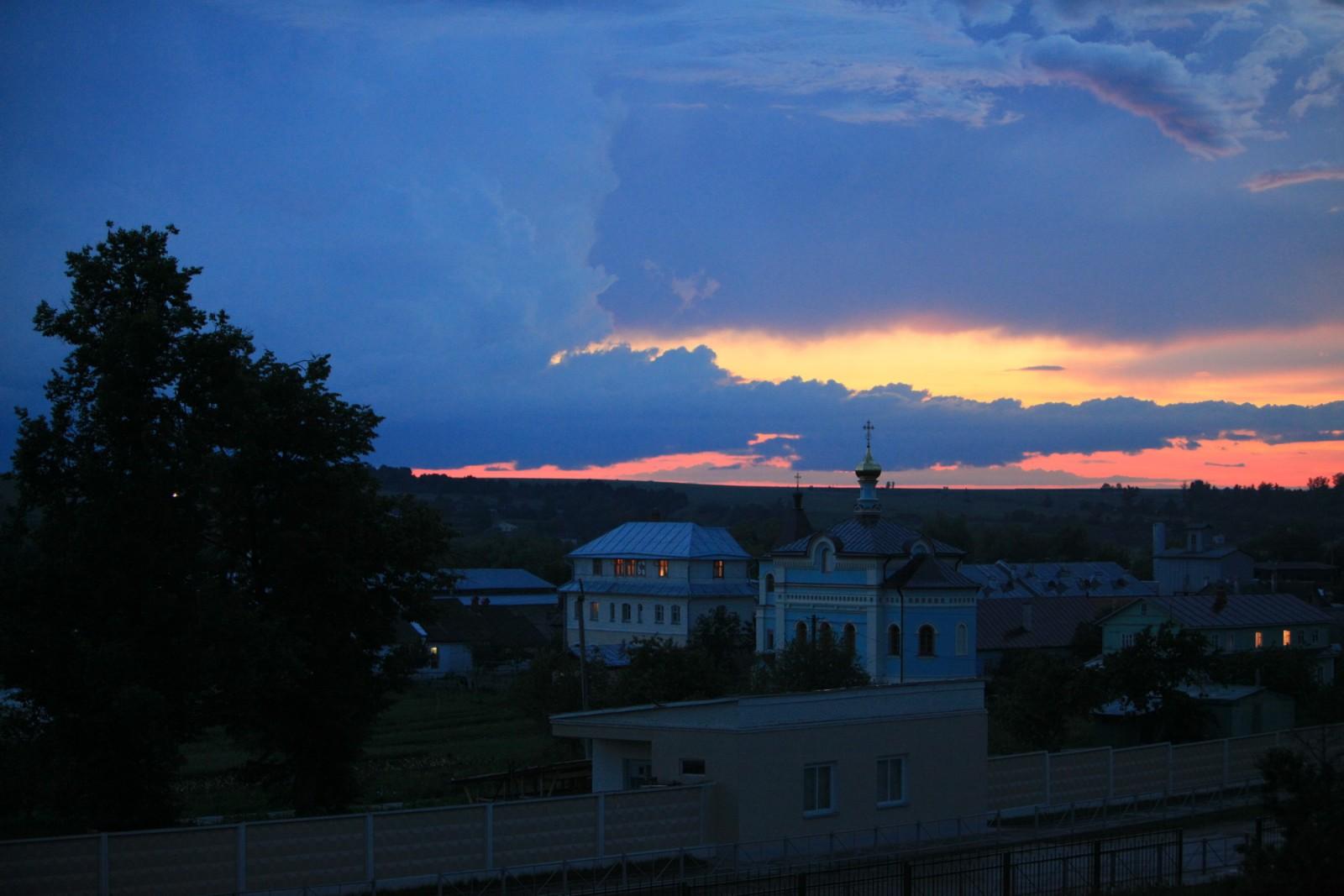 Вечер после дождя