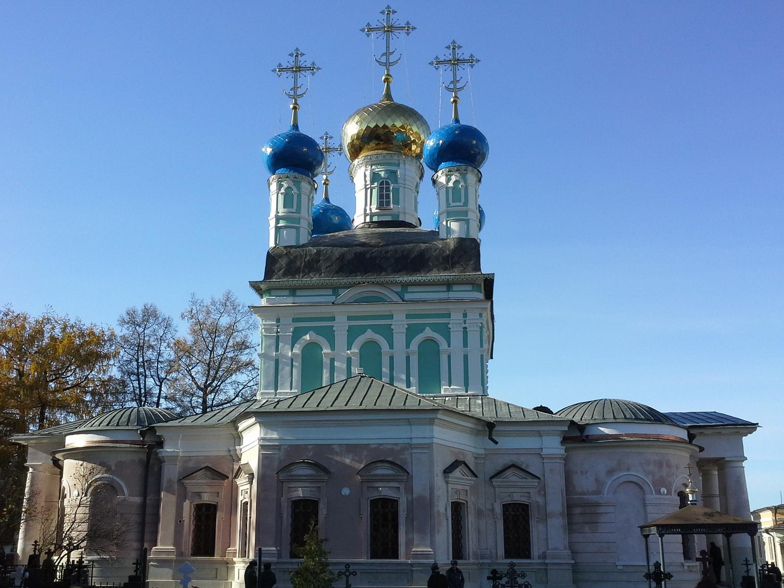Введенский собор после реставрации 23.10.2013.